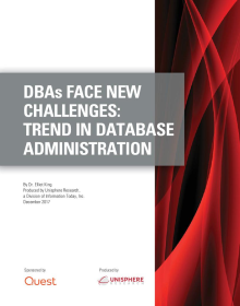DBAs Face New Challenges: Trends in Database Administration